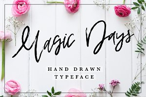 Magic Days Hand Drawn Font