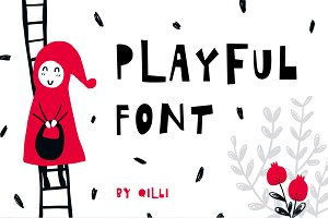 Playful Font - Display Typeface
