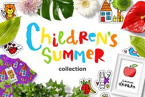 Children's Summer - Clipart Set!