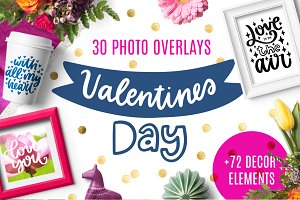 30 Valentine's Day Overlays!
