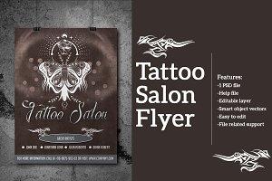Tattoo Salon Flyer