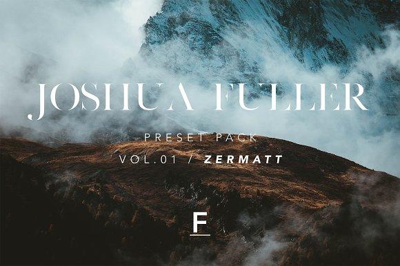 Joshua Fuller Preset Pack Vol.01