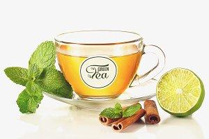Tea Cup Mock-up #22