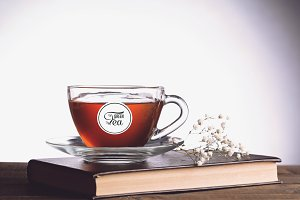 Tea Cup Mock-up #17