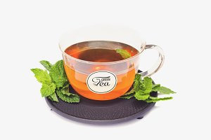 Tea Cup Mock-up #16
