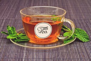 Tea Cup Mock-up #15