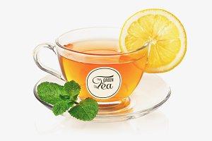Tea Cup Mock-up #12