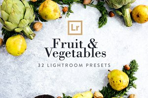 Fruit & Vegetables Lightroom Presets