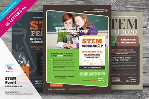 STEM Event Flyer Templates