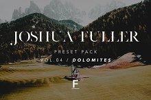 Joshua Fuller Preset Pack Vol.04 by Joshua Fuller in Actions