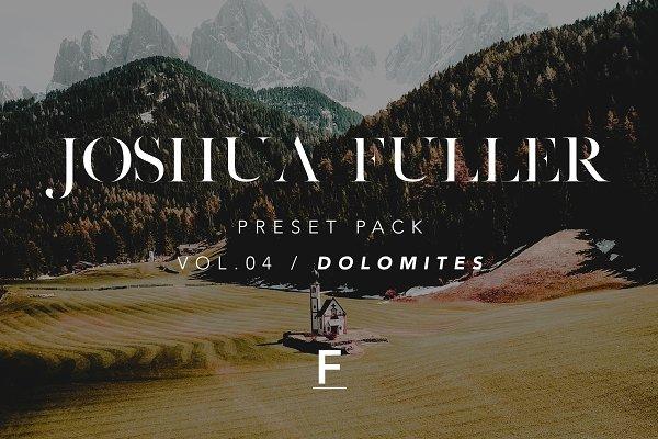 Actions: Joshua Fuller  - Joshua Fuller Preset Pack Vol.04