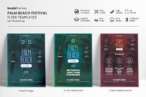 Palm Beach Festival Flyer