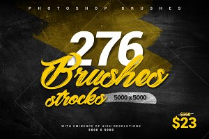 276 Stroke Brushes