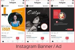Instagram Banner/Ad