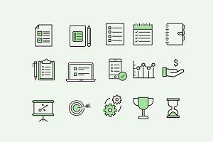 15 To-Do Productivity Icons