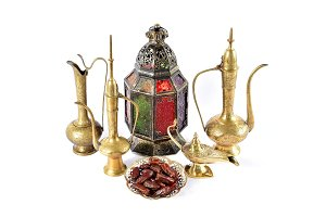 Oriental holidays decoration lantern