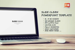 Slide Clean Powerpoint Template