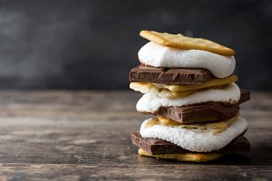 Homemade smore