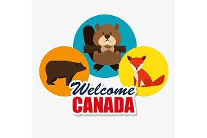 canadian culture group of animals
