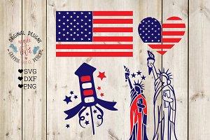 America Mini Bundle - American Flag