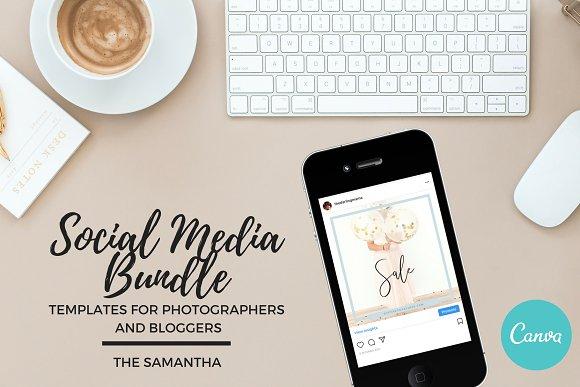 Social Media Bundle Canva