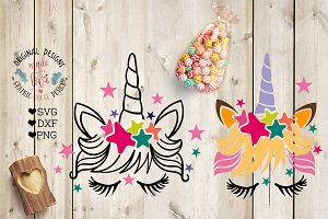 Unicorn Cut File and Printable