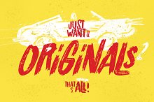Originals 2 Typeface