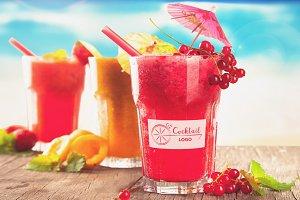 Cocktail Mock-up #4