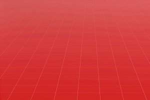 Tile red flooring, texture background, 3d illustration