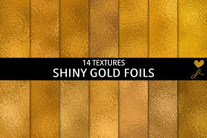 Shiny Gold Foils