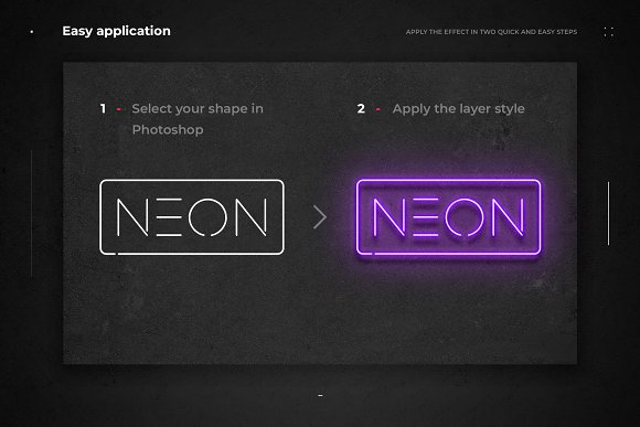 Neon Layer Styles in Photoshop Layer Styles - product preview 1