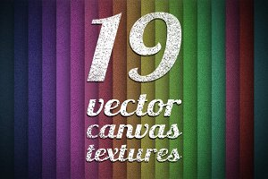 Vector canvas textures