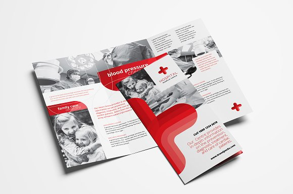 medical trifold brochure template brochure templates creative market