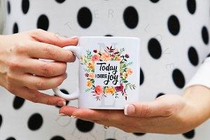 Today I Choose Joy - Clipart
