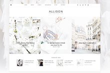 Allison - Wordpress Theme