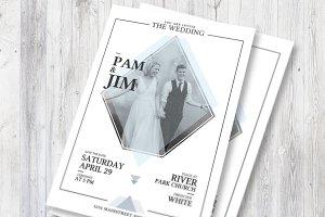 Wedding Invitation Simple Style