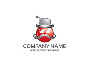 greek cherry - logo template