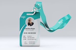 Identification or Id Card Design