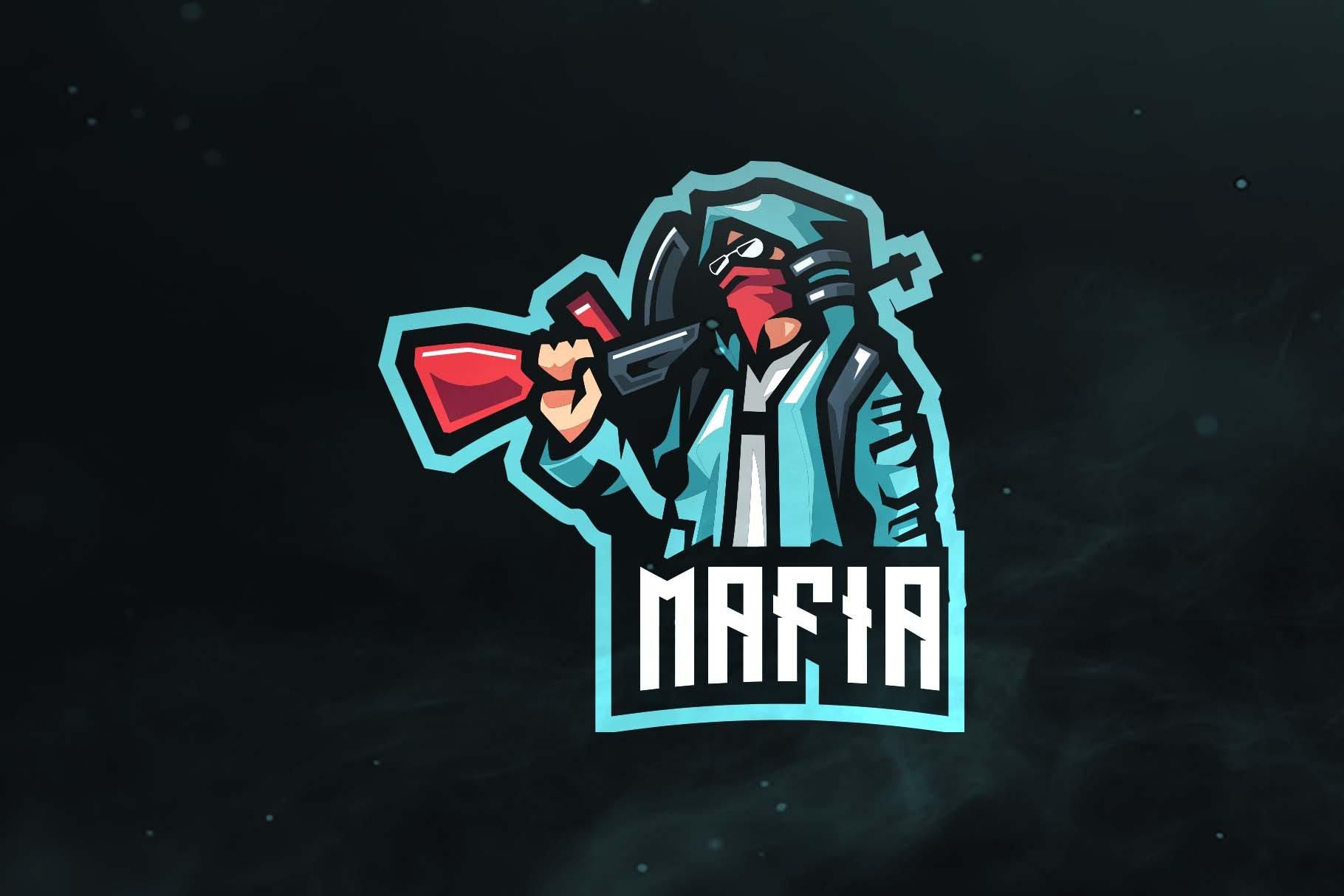 100 Mafia Sport And Esports Logo Logo Templates Creative Market