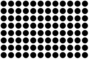 Big polka dot pattern seamless, pattern on white background. Modern stylish texture.