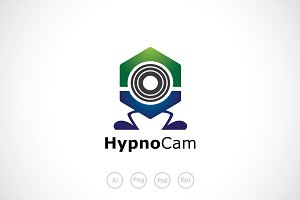 Hypnotic Cam Logo Template