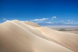 Desert Dunes in Kazakhstan