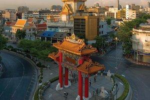 Traimit Temple, Bangkok, Thailand