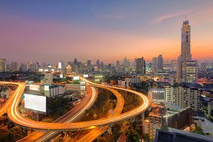 Downtown Bangkok Highway, Thailand