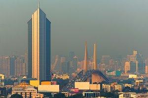Skyscrapers in Bangkok, Thailand
