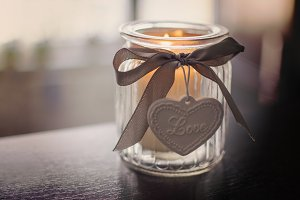 Love candle 1