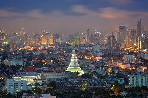 Wat Paknam Bhasicharoen, Bangkok, Thailand
