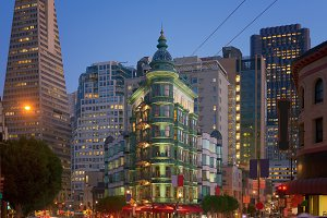 Financial district, San Francisco, California, USA