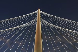 Margaret Hunt Hill Bridge, Dallas, TX, USA