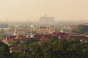 Wat Nang Ratchawihan in Bangkok, Thailand